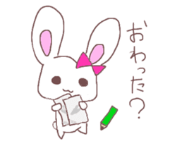 Rabbit idol  ONO-chan sticker #4756400
