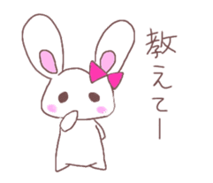 Rabbit idol  ONO-chan sticker #4756401