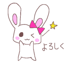 Rabbit idol  ONO-chan sticker #4756403