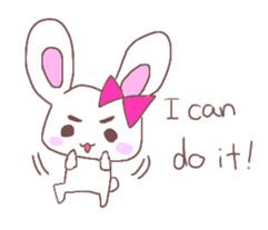 Rabbit idol  ONO-chan sticker #4756406