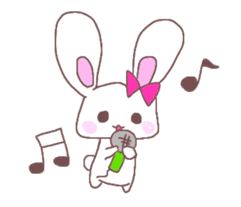 Rabbit idol  ONO-chan sticker #4756407