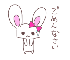 Rabbit idol  ONO-chan sticker #4756410