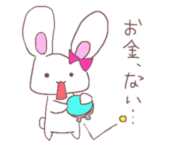 Rabbit idol  ONO-chan sticker #4756417