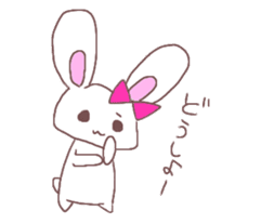 Rabbit idol  ONO-chan sticker #4756418