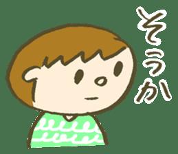 easygoing Totio sticker #4757173