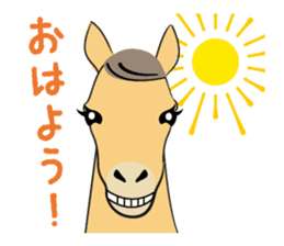 Daily horse sticker #4757945