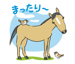 Daily horse sticker #4757952