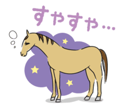 Daily horse sticker #4757954