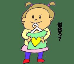 sweetie's world sticker #4758058