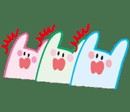life's conversation of Rabbit's friends2 sticker #4758585