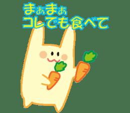 life's conversation of Rabbit's friends2 sticker #4758595