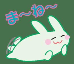 life's conversation of Rabbit's friends2 sticker #4758598