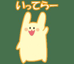 life's conversation of Rabbit's friends2 sticker #4758599