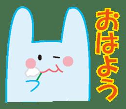 life's conversation of Rabbit's friends2 sticker #4758601
