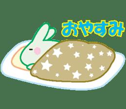 life's conversation of Rabbit's friends2 sticker #4758602