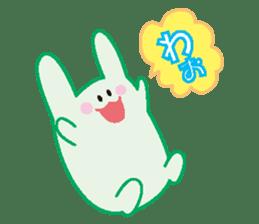 life's conversation of Rabbit's friends2 sticker #4758605