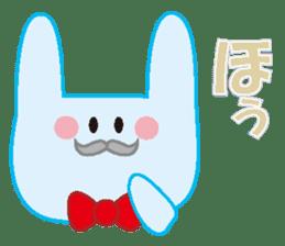 life's conversation of Rabbit's friends2 sticker #4758606