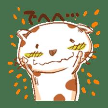HandwritingStyle Cat sticker #4758788