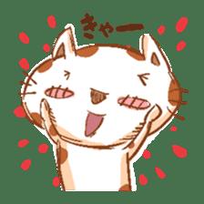 HandwritingStyle Cat sticker #4758789