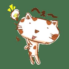HandwritingStyle Cat sticker #4758792