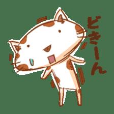 HandwritingStyle Cat sticker #4758800