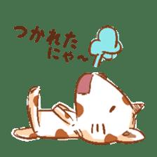 HandwritingStyle Cat sticker #4758813