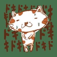 HandwritingStyle Cat sticker #4758815