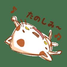 HandwritingStyle Cat sticker #4758818
