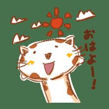 HandwritingStyle Cat sticker #4758821