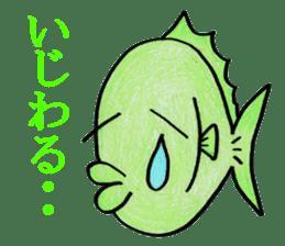Color fish sticker #4758825