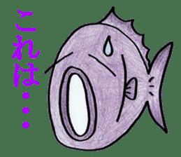 Color fish sticker #4758831