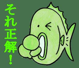Color fish sticker #4758836