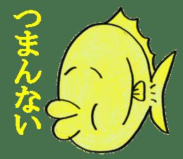 Color fish sticker #4758839