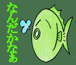 Color fish sticker #4758843