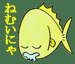 Color fish sticker #4758844