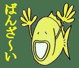 Color fish sticker #4758847