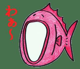 Color fish sticker #4758858
