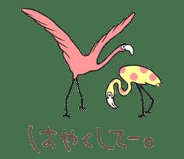 Rainbow Flamingo sticker #4760045