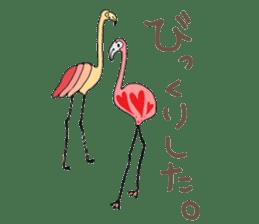 Rainbow Flamingo sticker #4760051