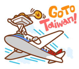 NATTO BOY in TAIWAN sticker #4762140