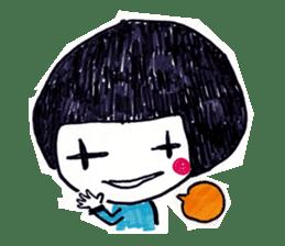 Being cute, blushing.  2 sticker #4762674