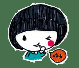 Being cute, blushing.  2 sticker #4762684
