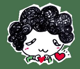 Being cute, blushing.  2 sticker #4762691