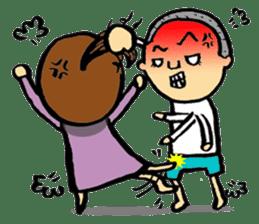 kurikuri brothers sticker #4763300