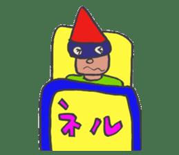 Phantom Fumetsusagao sticker #4763347