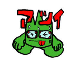 Phantom Fumetsusagao sticker #4763353