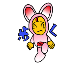 Phantom Fumetsusagao sticker #4763355