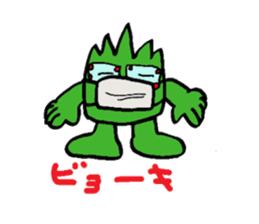 Phantom Fumetsusagao sticker #4763357
