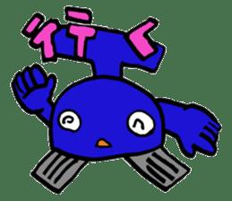 Phantom Fumetsusagao sticker #4763363