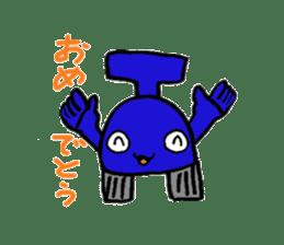 Phantom Fumetsusagao sticker #4763365